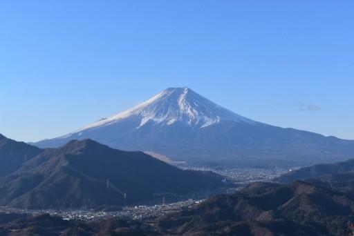 4月23日(金)岩殿山 【大月市秀麗富嶽十二景】