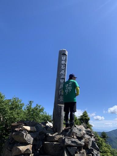 8月7日、甲武信ヶ岳へ登ります♫